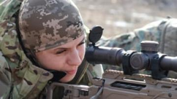 Ukraine, the Donbass Female Fighters (STILL)